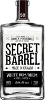 Small secret barrel distillery white