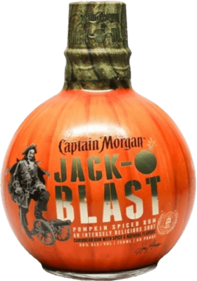 Medium captain morgan jack o blast spiced