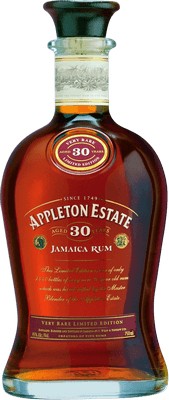 Medium appleton estate 30 year limited edition rum