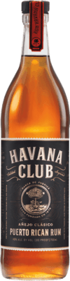 Medium havana club anejo classico