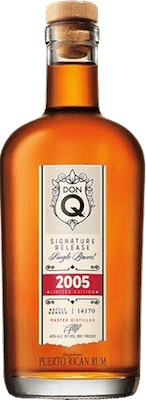 Don Q 2005  Limited Edition rum