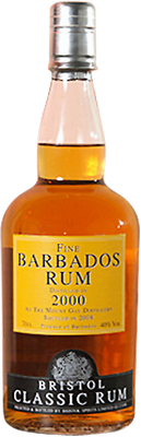 Fine barbados 2000 rum