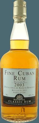 Medium fine cuban 2003 rum