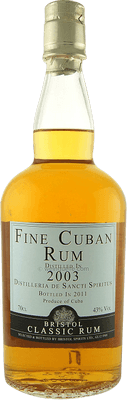 Medium fine cuban 2003 rum