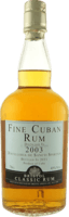 Small fine cuban 2003 rum