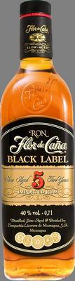Flor de cana black label 5 rum