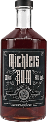 Medium michler s artisanal dark jamaican rum 400px