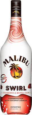 Medium malibu  strawberries   whipped creme swirl rum 400px