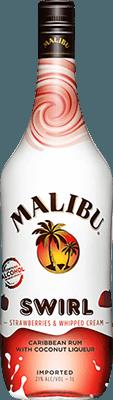 Medium malibu  strawberries   whipped creme swirl rum 400px