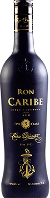 Medium ron caribe anejo 5 year rum 400px