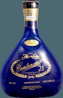 Small flor de cana centenario 21 rum