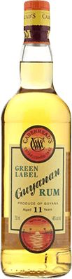 Medium cadenhead s guyanan green label 11 year rum 400px