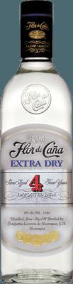 Medium flor de cana extra dry 4 rum