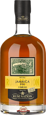 Medium rum nation jamaica pot still 5 year rum 400px