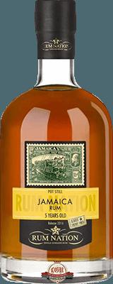 Medium rum nation jamaica pot still 5 year rum 400px