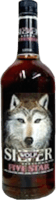 Small silver wolf five star rum 400px