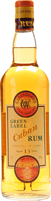Medium cadenhead s cuban green label 13 year rum 400px