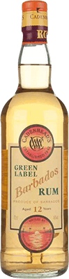 Medium cadenhead s barbados green label 12 year rum 400px
