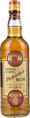 Medium cadenhead s panama green label 15 year rum 400px