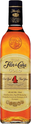 Medium flor de ca a gold 4 rum