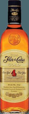 Medium flor de ca a gold 4 rum
