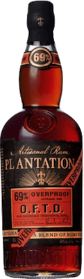 Medium plantation overproof oftd rum 400px
