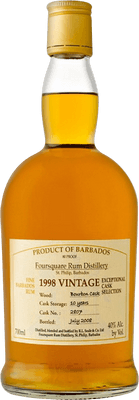 Medium foursquare 1998 vintage rum