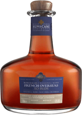 Medium west indies rum and cane french overseas xo
