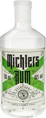 Medium michler s white overproof rum 400px