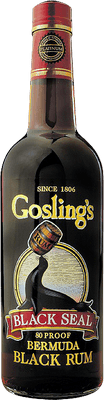 Medium gosling s black seal rum