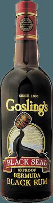 Medium gosling s black seal rum