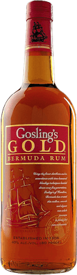 Medium gosling s gold rum