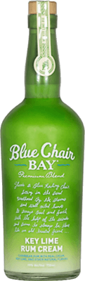 Medium blue chair bay key lime cream