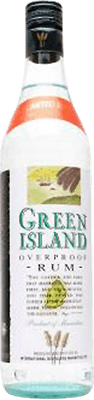 Medium green island overproof rum
