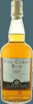 Medium bristol classic 2003 cuban sancti spiritus 12 year