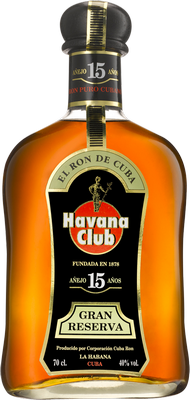 Havana club 15 year rum