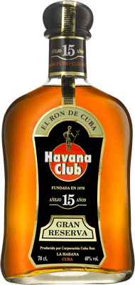 Medium havana club 15 year rum