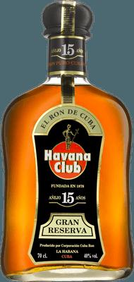 Medium havana club 15 year rum