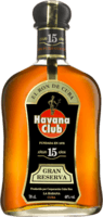 Small havana club 15 year rum