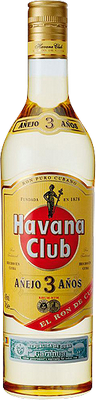 Havana club 3 year rum