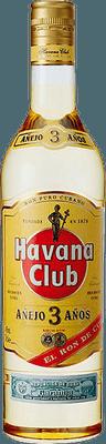 Medium havana club 3 year rum