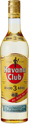 Medium havana club 3 year rum