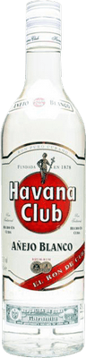 Medium havana club blanco rum