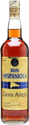 Medium hispaniola grand anejo 8 rum