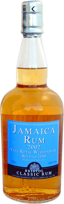 Medium jamaica rum 2002 vale royal rum