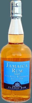 Medium jamaica rum 2002 vale royal rum