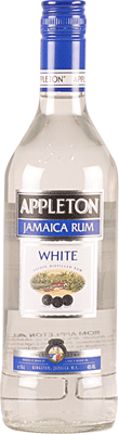 Medium appleton estate white rum 400px