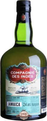 Medium compagnie des indes jamaica hampden cask strength 24 year