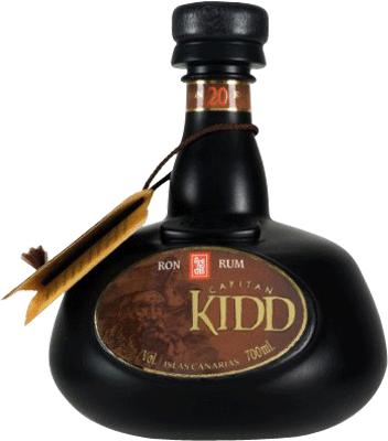 Arehucas capitan kidd rum 400px