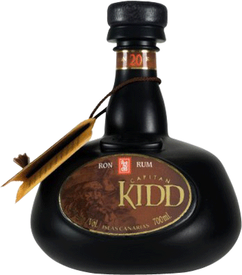 Medium arehucas capitan kidd rum 400px